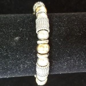 Silpada Sterling Silver 14K Gold Fill Bracelet